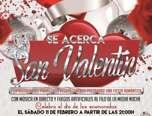 Celebra San Valentín 2017 en La Veguca