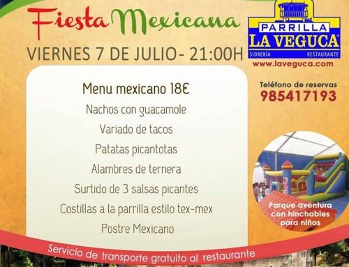 fiesta mexicana viernes 7 de julio
