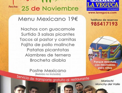 Fiesta Mexicana 25 Noviembre 2017