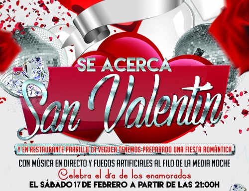 Fiesta de San Valentin 17 de Febrero